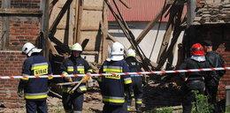 Zawaliła się stodoła. Szukają ofiar