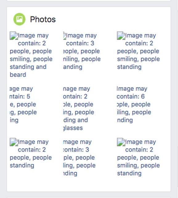 Kako Fejsbuk opisuje fotografije: