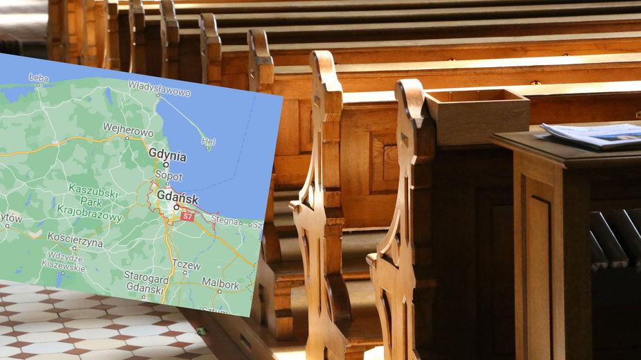 60-latek ukradł puszkę z datkami z kościoła w Gdańsku