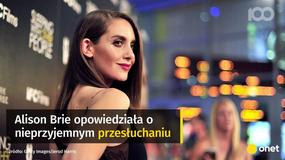 """Alison Brie o castingu do """"Ekipy"""": kazali mi zdjąć top"""