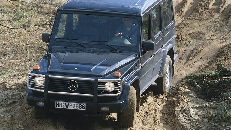 Mercedes klasy G - gdzie diabeł nie może...,