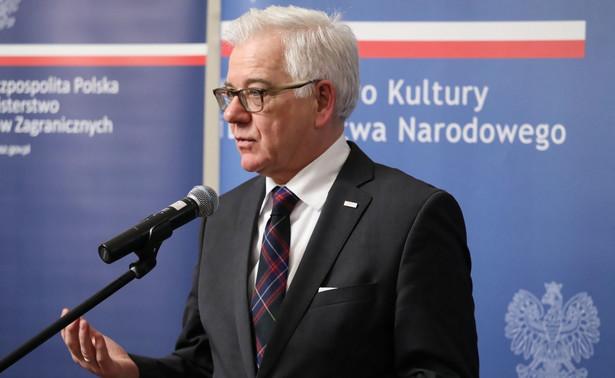 Jacek Czaputowicz, szef MSZ