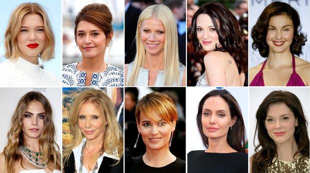 Kobiety, które oskarżyły Weinsteina o molestowanie: Lea Seydoux, Emma de Caunes, Gwyneth Paltrow, Asia Argento, Ashley Judd, Cara Delevingne, Rosanna Arquette, Judith Godreche, Angelina Jolie, Rose McGowan