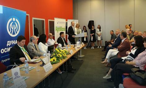 Goran Mačkić, direktor Direkcije za prodaju neživotnih osiguranja govori o značaju osiguranja na Sajmu poljoprivrede