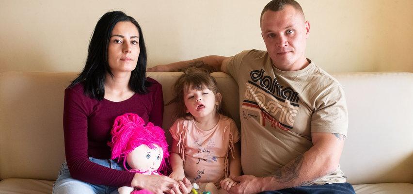4-letnia Basia całkowicie straciła wzrok. Chciałaby jeszcze kiedyś zobaczyć mamę i tatę