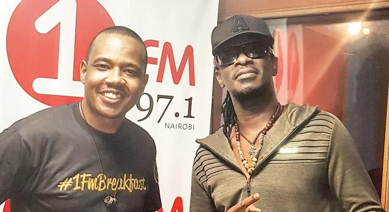 Nameless during an interview with DNG at One Fm (Instagram)