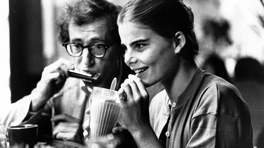 "Woody Allen jako Isaac Davis i Mariel Hemingway jako Tracy w filmie ""Manhattan"" (1979)"