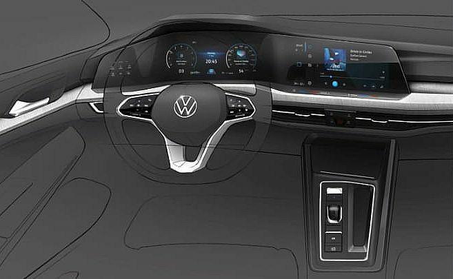 Volkswagen Golf ósmej generacji zaskoczy cyfrowym wnętrzem