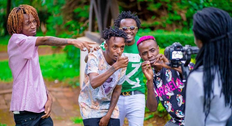 """Bahati goes after Boondocks Gang for his new song """"Taniua and Kenyans can't keep calm (Video)"""