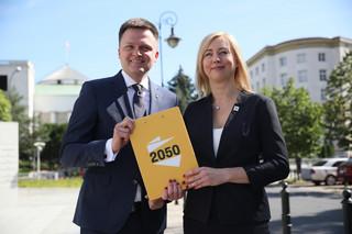 Hołownia: Potrzebujemy obecności w Sejmie, by monitorować proces legislacyjny