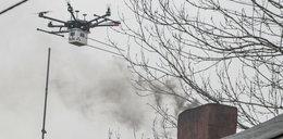 Drony łapią palaczy odpadów