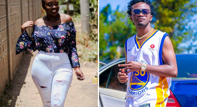 Men are scum- Bahati's baby mama after going through pregnancy alone