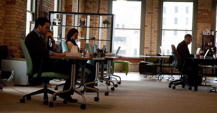 W coworku szanuj cudzą przestrzeń