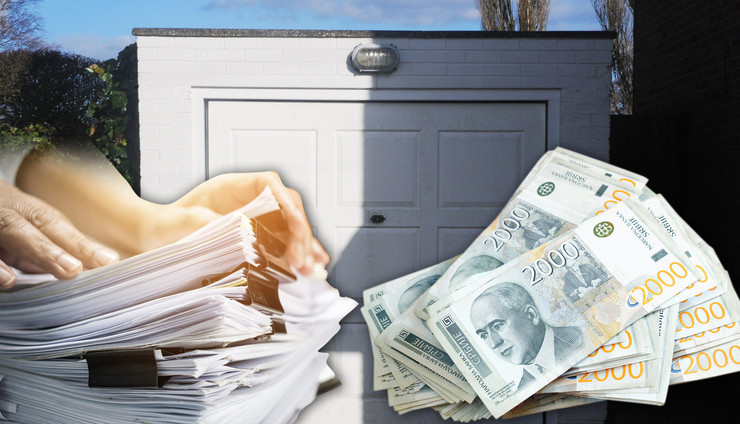 garaza porez papirologija kombo RAS Shutterstock Profimeida