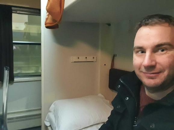 Hildebrant van Kejeren, putovanje vozom