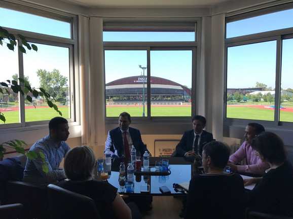 Sastanak Udovičića sa kolegama u Parizu i poseta INSEP-u