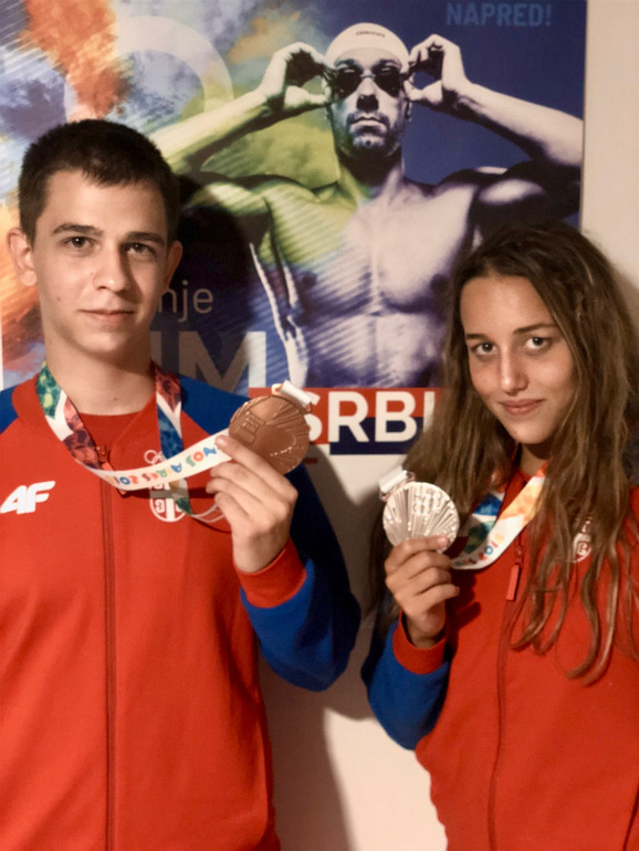 Aleksa Mitrović i Anja Crevar