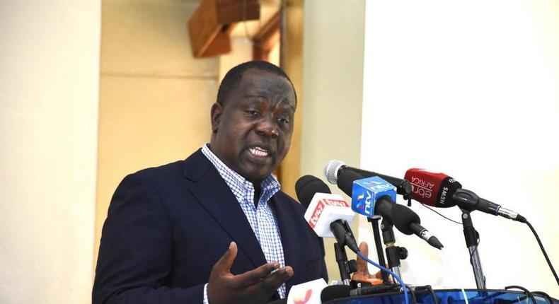 Interior CS Fred Matiang'i names 9 tycoons financing terrorism, orders immediate freeze of bank accounts