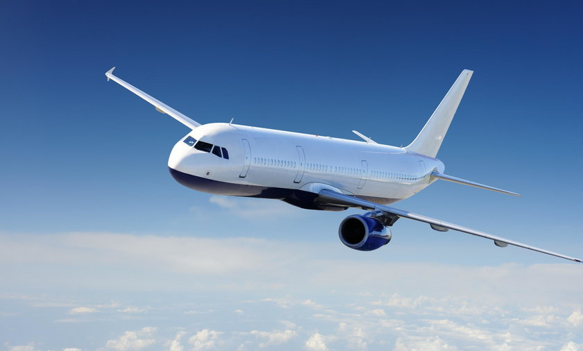 samolot, ilustracja