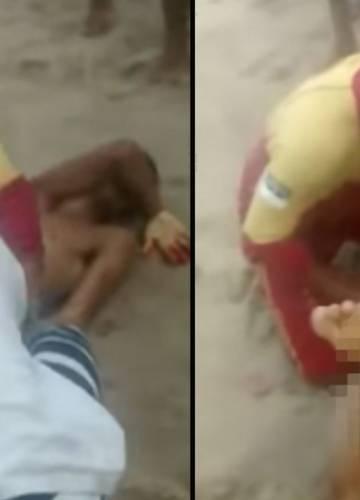 Leharapta az erőszakos férfi péniszét! | BOON