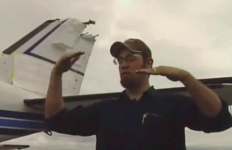 sudar aviona