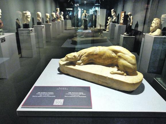 Izložba će u zbirci strane umetnosti Muzeja grada Novog Sada biti otvorena do 11. septembra