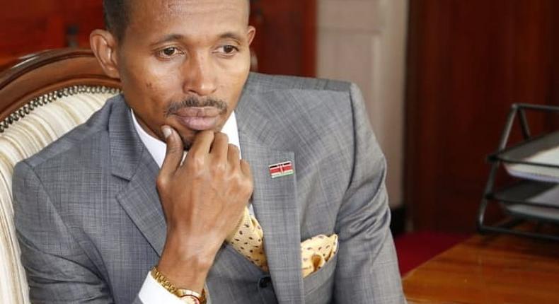 Nyali Mp Mohamed Ali in Mourning