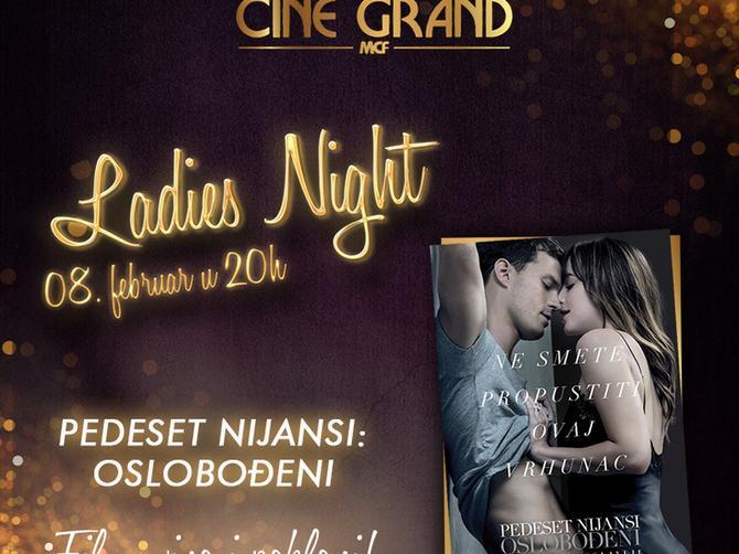 """LADIES NIGHT: """"PEDESET NIJANSI: OSLOBOĐENI"""" u bioskopu """"Cine Grand"""""""