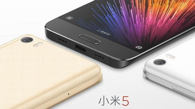 Xiaomi Mi5, fot. producenta