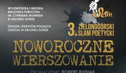 Już w czwartek 3. Zielonogórski Slam Poetycki
