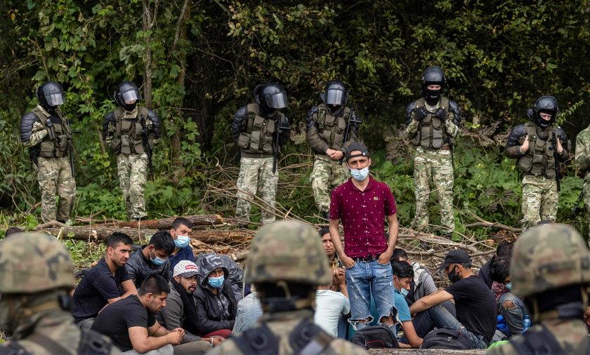 Uchodźcy na granicy. Jest decyzja Europejskiego Trybunału Praw Człowieka.