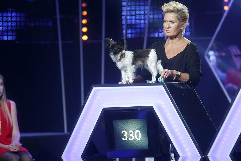 Ewa Kasprzyk z psem