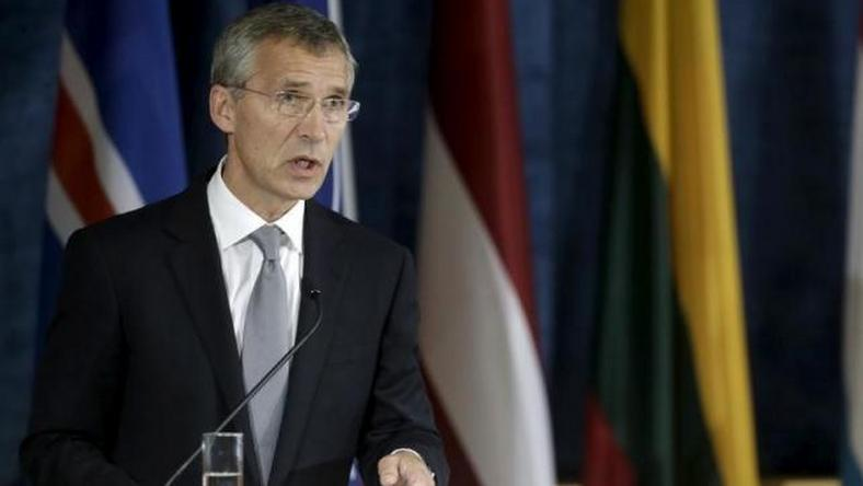 NATO chief says Russian support of Syria's Assad prolonging conflict