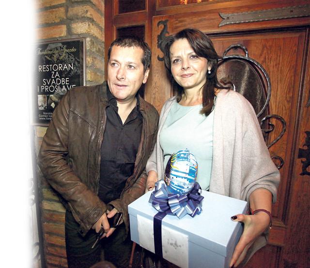 Aco Pejović i Biljana Pejović