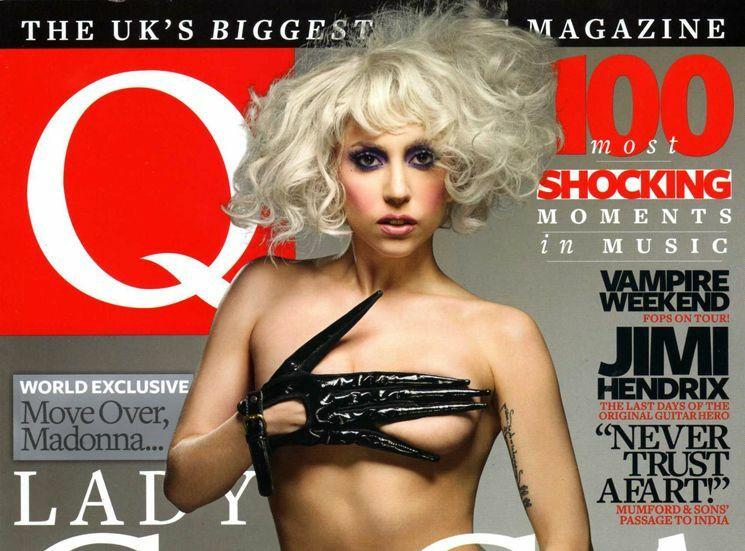 Lady GaGa pozuje topless