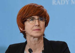 Rafalska: Ustawa obniżająca wiek emerytalny może wejść w życie w przyszłym roku