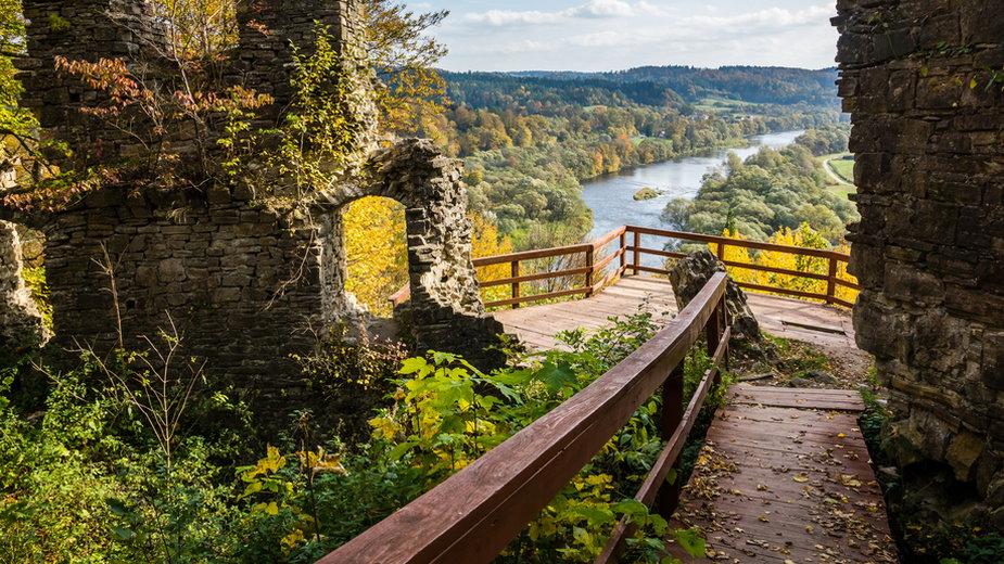 Ruiny zamku Sobień