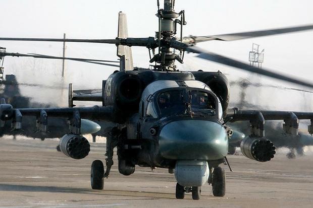 """Śmigłowiec rozpoznawczo-uderzeniowy KA-52 """"Aligator"""""""