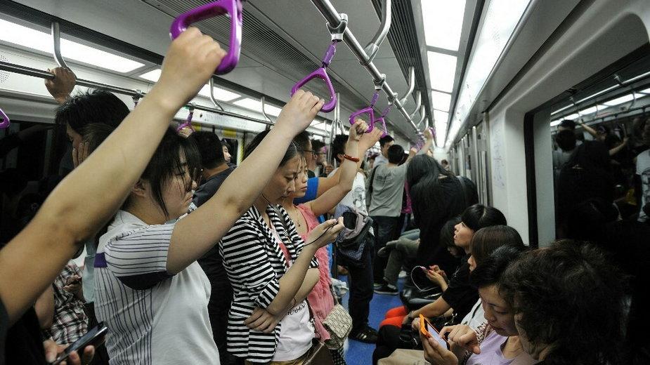 Pekin, metro (zdjęcie ilustracyjne)