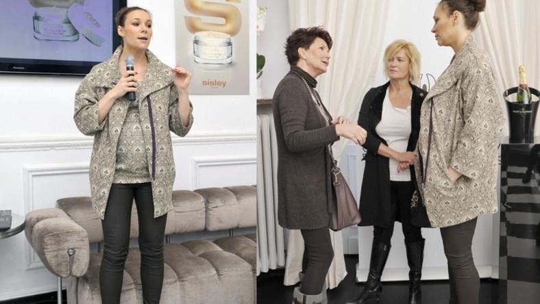 Sonia Bohosiewicz nie rezygnuje w ciąży z wysokich obcasów