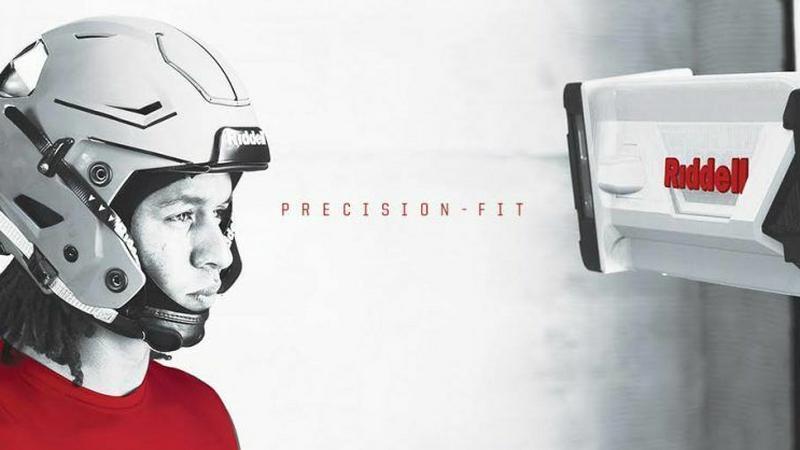 Riddell Precision - Spersonalizowane kaski dla sportowców