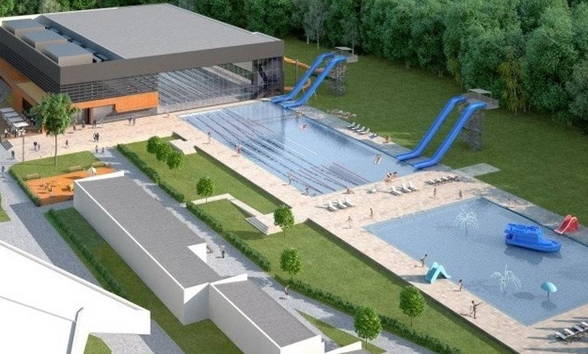 Tak będzie wyglądał basen przy Wejherowskiej.
