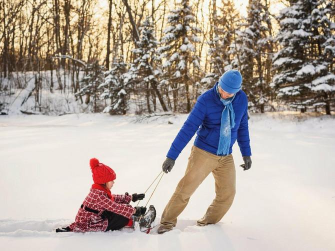 Pogotovo u ove snežne dane: Evo zašto je igranje napolju toliko važno