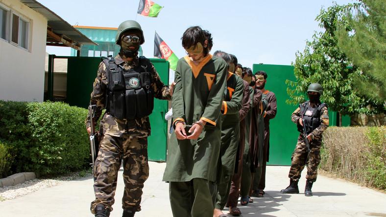 Talibowie w rękach sił bezpieczeństwa Afganistanu