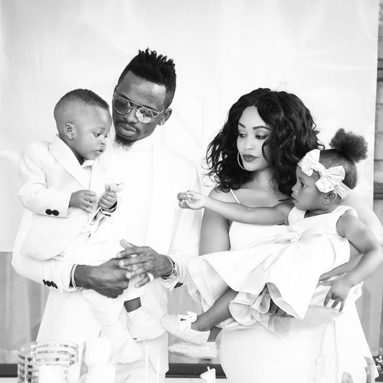 Diamond Platnumz and Zari Hassan together with their Kids. Babu Tale has revealed that Diamond has not talked to his kids for the past 5 Months.