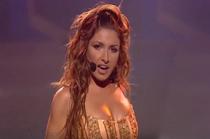 Ova vatrena Grkinja je pre 13 godina nastupom na Evroviziji ZATRESLA PLANETU: Danas je mnogi NE BI PREPOZNALI