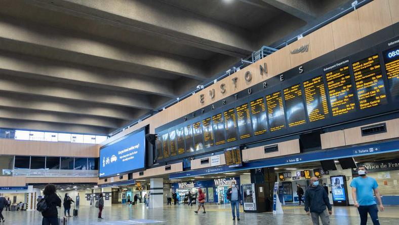 Stacja London Euston