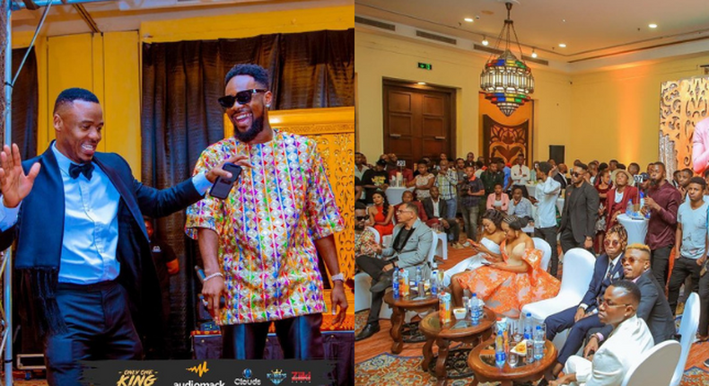 List of celebrities who graced Alikiba's Album Launch 'Only one King'
