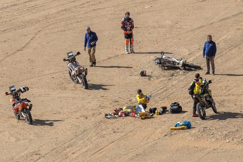 Śmierć na trasie Dakaru. Goncalves miał 40 lat