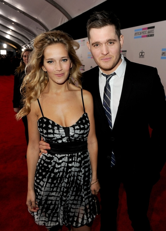 Luisana Lopilato i Michael Buble (fot. Getty Images)